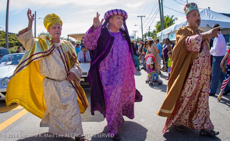 Calle Ocho, celebrations, Florida < United States < North America, Latin, Little Havanna, Miami < South Florida, Outdoor, parade, Three Kings, Three Kings Day Parade, Wise Men